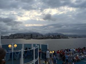 Leaving Rio...
