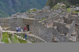 Macchu PIcchu view of buildings