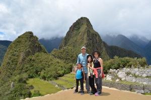 Macchu PIcchu view of Wayne Picchu