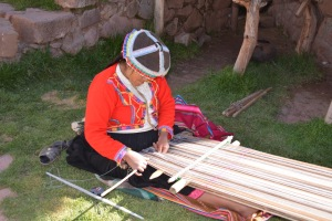Ancient weaving traditions