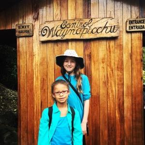 Waynu Picchu gate